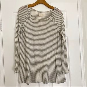 Anthropologie t.l.a striped tunic Sz. S